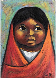 Octavalo Indian Child by Arturo Nieto