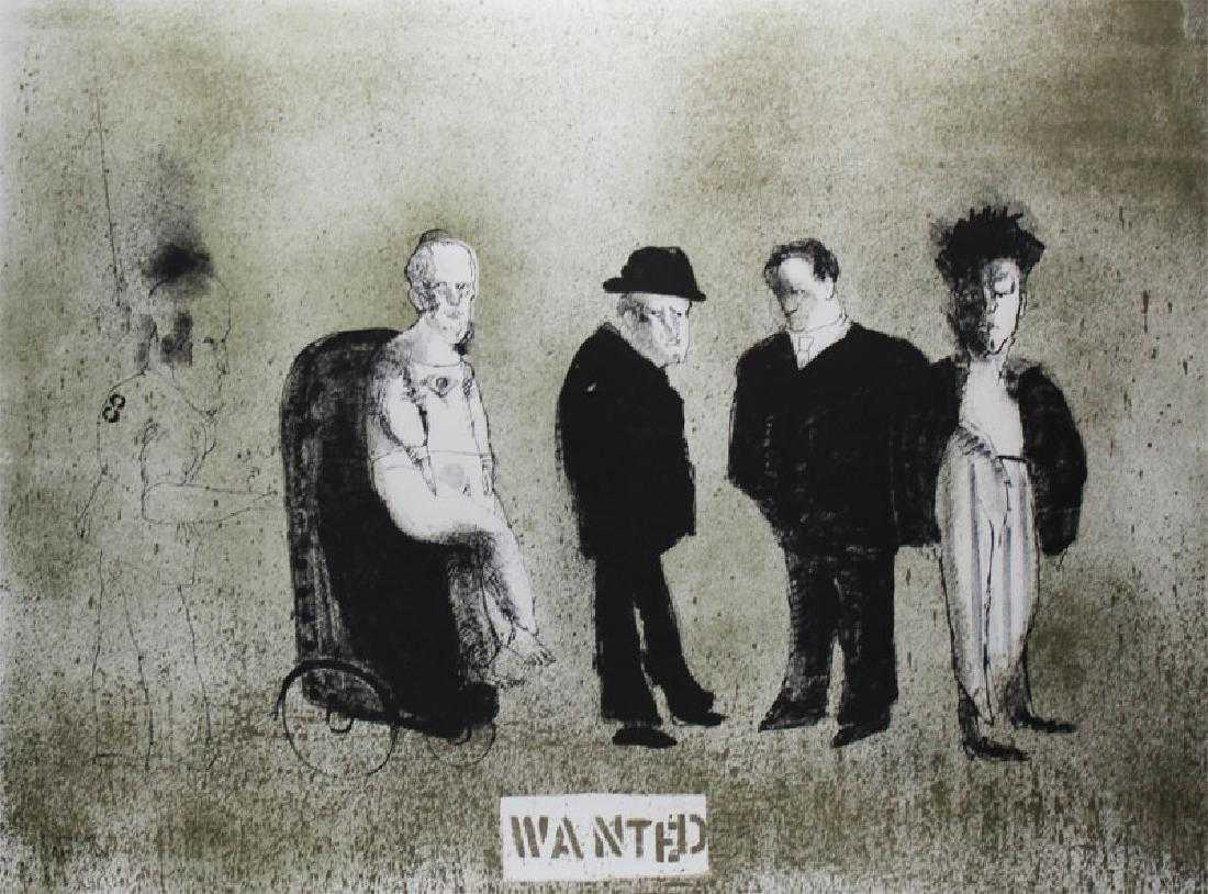 Wanted from the Crime Suite by Jose Luis Cuevas